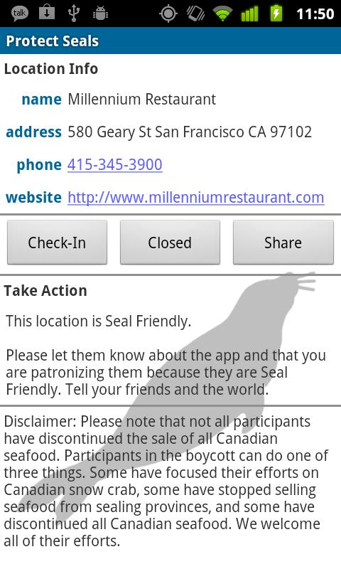 Protect Seals - screenshot