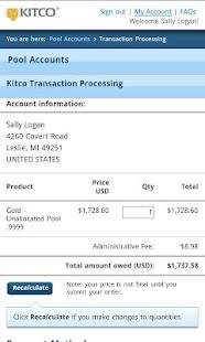 Buy Silver Gold from Kitco- screenshot thumbnail