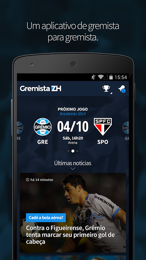 Gremista ZH - screenshot