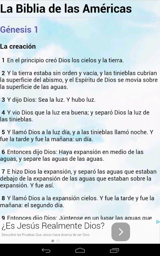 Biblia en Español Multi Opción - screenshot
