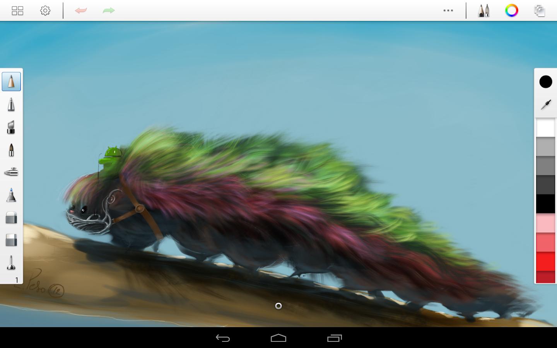 SketchBook Pro - screenshot