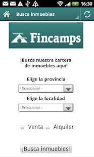 Fincamps inmobiliaria - screenshot thumbnail