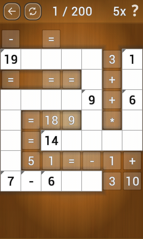 Math Pieces- screenshot