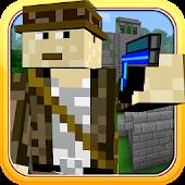 Temple of Blocks Raider Craft