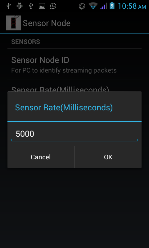 Sensor Node Free- screenshot