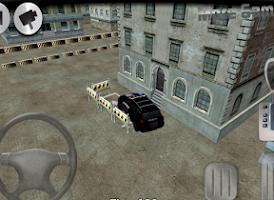 Screenshot of 3D Police Car Parking