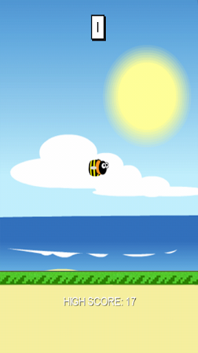 Funny Fly Bee