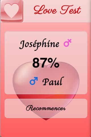 【免費娛樂App】Test d'Amour-APP點子