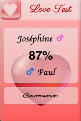 Test d'Amour - screenshot