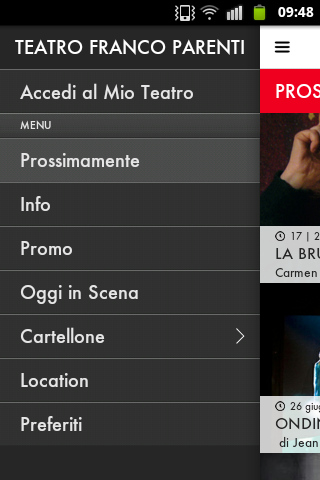 Teatro Franco Parenti - screenshot