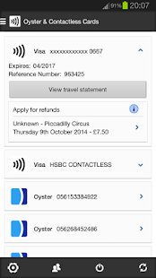 London Oyster Contactless - screenshot thumbnail