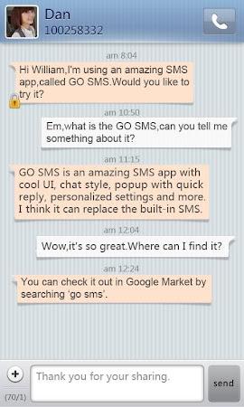 GO SMS Pro SimpleStripe theme 1.1 screenshot 1455781