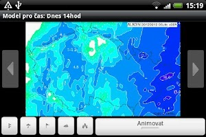Screenshot of Aladin - Weather Model