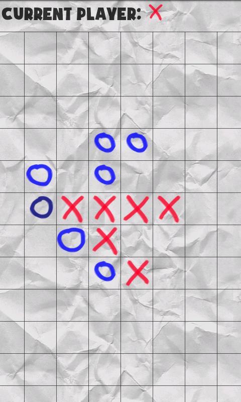 Connect Five- screenshot