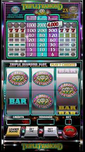 Slot Machine: Triple Diamond 7
