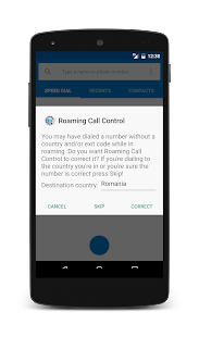 Roaming Call Control - screenshot thumbnail