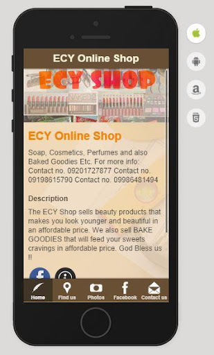 ECY Online Shop