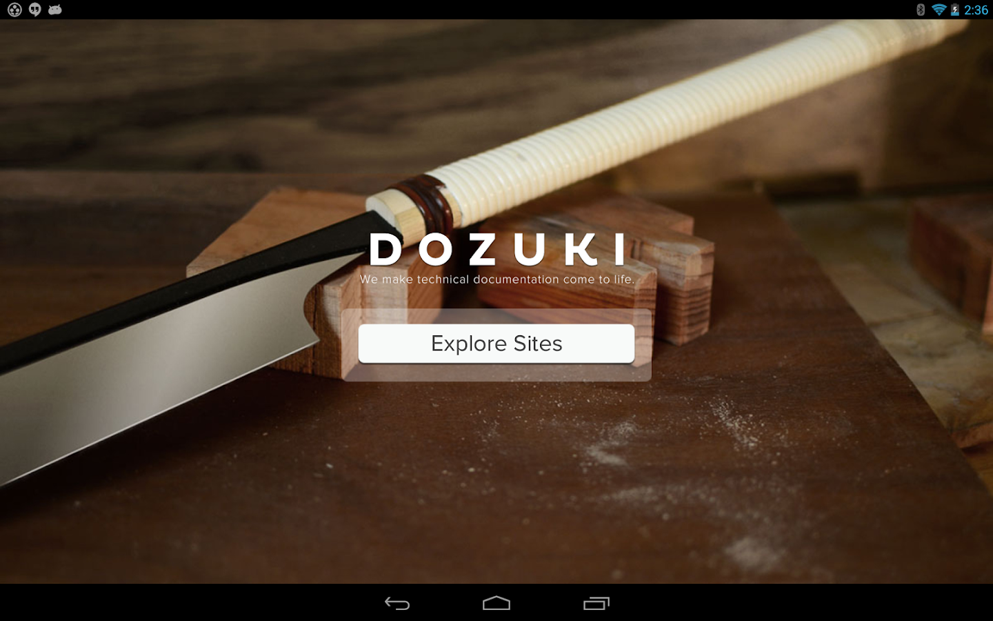 Dozuki Guides- screenshot