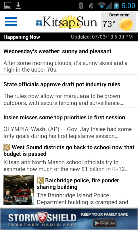 Kitsap Sun - screenshot