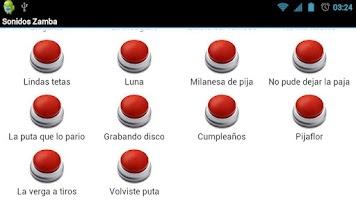 Screenshot of Sonidos Zamba