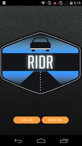 Testing for a client - Ridr Dr
