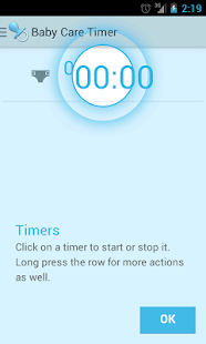 Baby Care Timer Lite - screenshot thumbnail