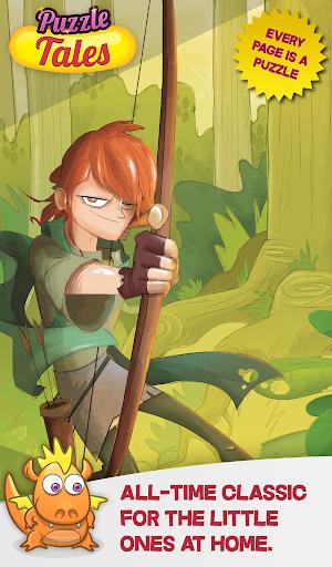 Robin Hood Jigsaw Tale