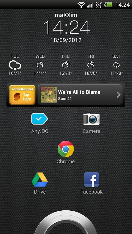 Virtuous Widgets - screenshot