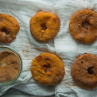 Beer-Battered Apple Fritters