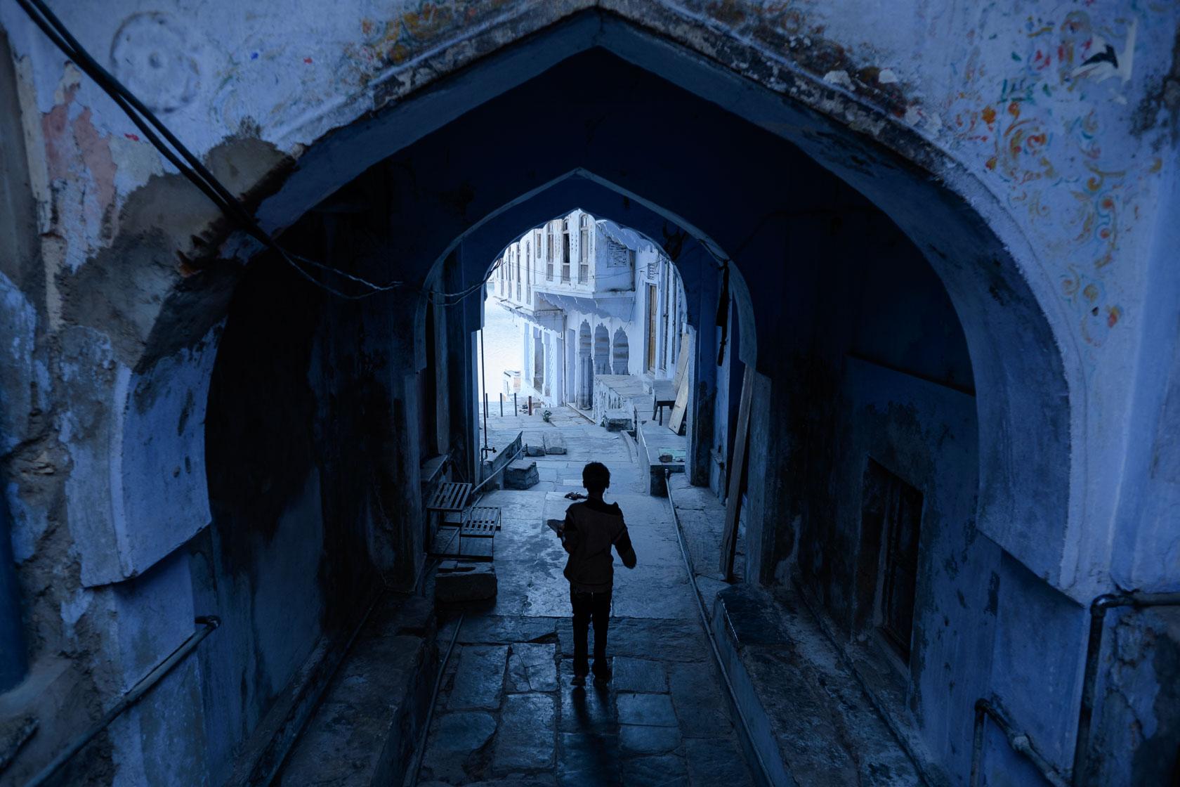 Ghat Entrance, Pushkar, India