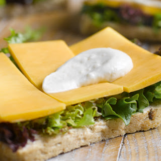 Cheese Sandwich With A Hint Of Caramelised Onion