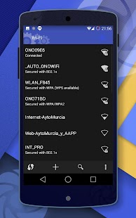 CM11 DarkBlue Theme-Android™ L - screenshot thumbnail