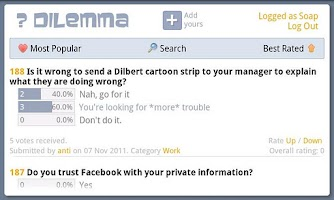 Screenshot of Dilemma