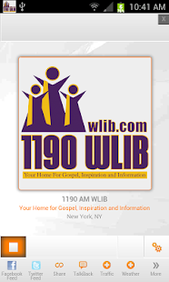 1190AM WLIB- screenshot thumbnail