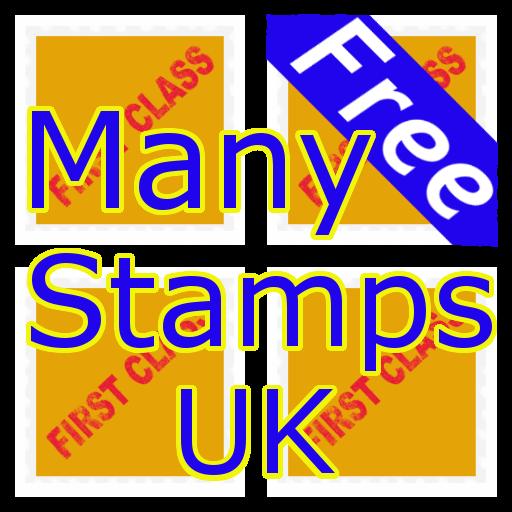 Many Stamps UK 2014 LOGO-APP點子