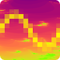 PixelWave logo