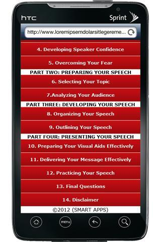 【免費通訊App】Smart Guide To Public Speaking-APP點子