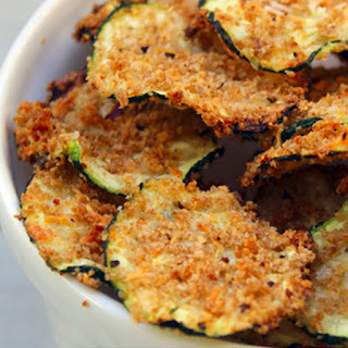 Baked Zucchini Chips No Breading Recipes.