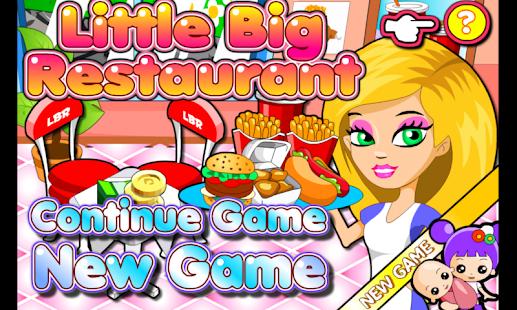 Game Little Big Restaurant APK for Windows Phone