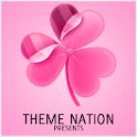 GO Launcher Theme Pro Pink logo