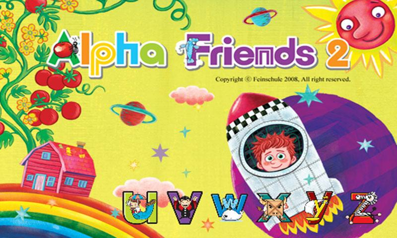 Alpha friends 2-5 (U~Z) - screenshot