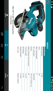 Makita Mobile - screenshot thumbnail