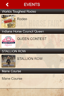 Hoosier Horse Fair & Expo- screenshot thumbnail