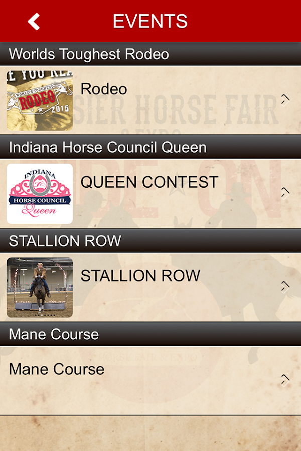Hoosier Horse Fair & Expo- screenshot