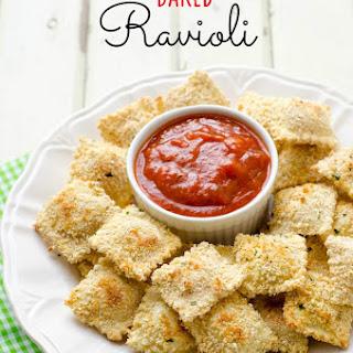 Baked Ravioli.