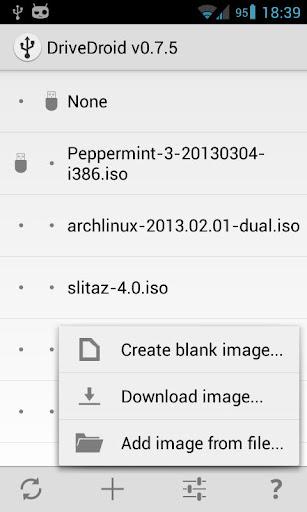 DriveDroid 0.9.29 screenshots 4