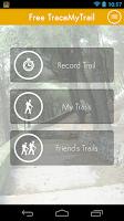 Screenshot of Trace My Trail