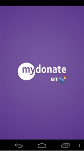 MyDonate- screenshot thumbnail
