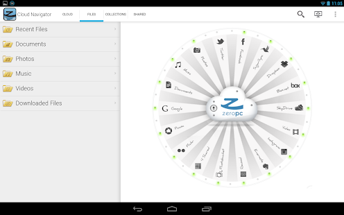 ZeroPC Cloud Navigator - screenshot thumbnail