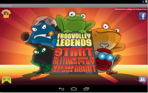 Frog Volley- screenshot thumbnail
